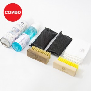 Perfect Care 2 Combo (1 Enito Nano Repellent 250ml + 1 Enito Foam Cleaner Kit + 1 Enito Standard Brush + 1 Enito Freshener)