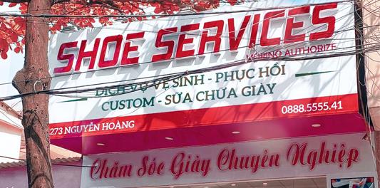 Shoe Services - Spa Chăm Sóc Giày Số 1 Đà Nẵng