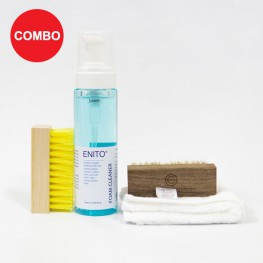 Easy Clean 2 Combo (1 Enito Foam Cleaner Kit + 1 Enito Standard Brush)