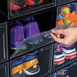 Hộp đựng giày nhựa Mica/ABS Enito Black Box