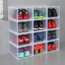 Hộp đựng giày nhựa Mica/ABS Enito White Box