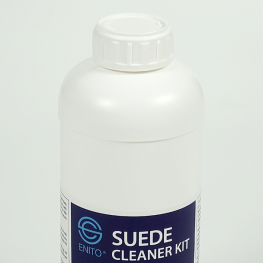 Can dung dịch vệ sinh giày da lộn Enito Suede Cleaner 1000ml
