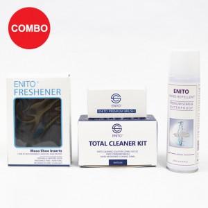Perfect Care 1 Combo (1 Enito Nano Repellent 250ml + 1 Enito Total Cleaner Kit + 1 Enito Premium Brush + 1 Enito Freshener)