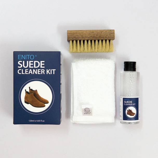 Bộ sản phẩm làm sạch giày da lộn Enito Suede Cleaner Kit