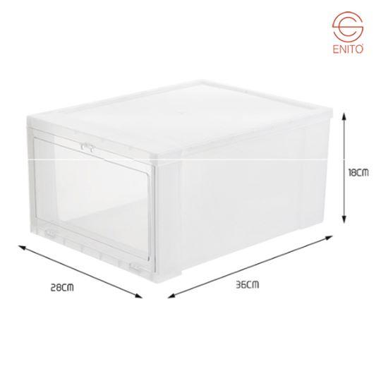 Thông số Hộp giày nhựa Mica/ABS Enito White Box